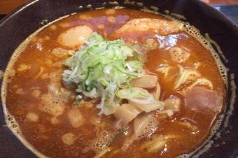 福吉の濃厚辛味魚醤麺