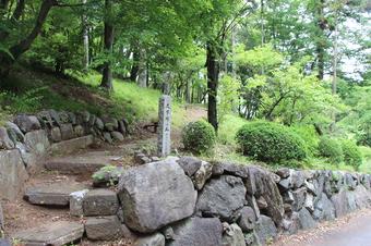文学碑の丘