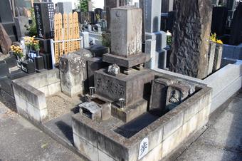 将棋名人の福泉藤吉の墓