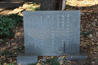 三ヶ島葭子の歌碑(中氷川神社)#383704