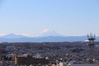 所沢タワーマンションからの見える景色