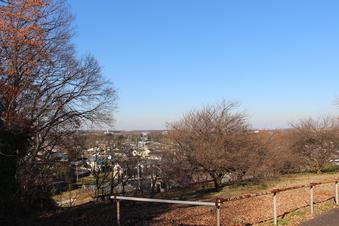 比良の丘から見える景色#385696