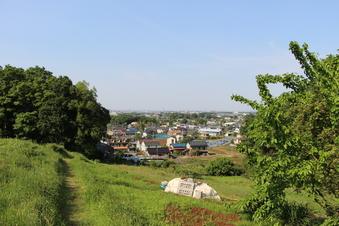 比良の丘から見える景色#385693