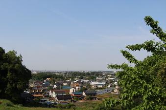 比良の丘から見える景色#385694