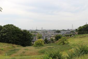 ドレミの丘公園から見える景色#385723