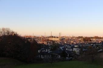 ドレミの丘公園から見える景色#385718