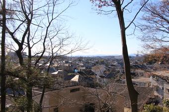 安松神社から見える景色