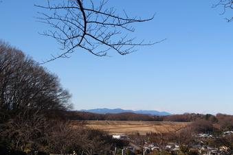 狭山湖畔霊園から見える景色#385747
