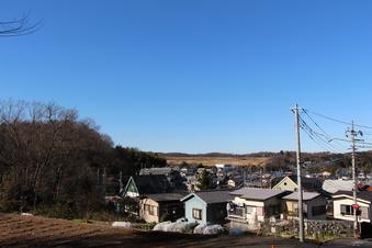狭山湖畔霊園から見える景色#385749