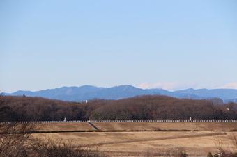 狭山湖畔霊園から見える景色