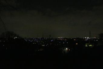 ドレミの丘公園から見える夜景