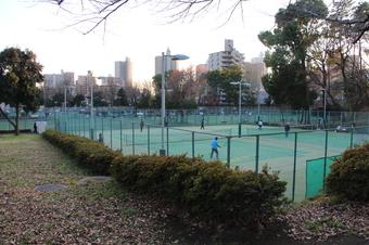 航空公園テニス場