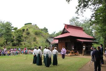 荒幡富士の山開き