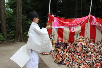 所澤神明社の人形供養祭#389108