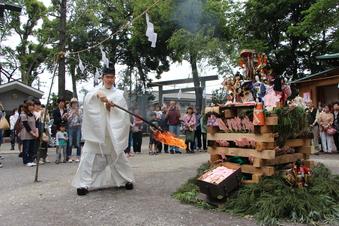所澤神明社の人形供養祭#389117