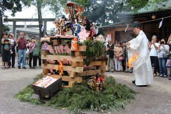所澤神明社の人形供養祭#389119