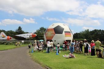 航空公園祭り